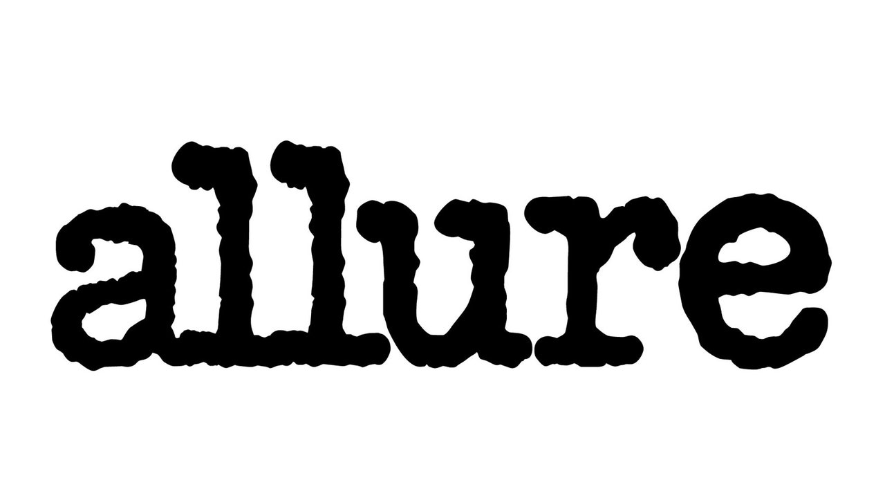Allure Logo for an article about dental floss where Dr. Handschuh was quoted